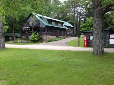 Rent the Lodge and our property for your family reunion, wedding, or group event
