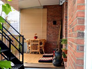 Montreal apartment photo - Private Covered Terrace(Emergency Stairs Only)- Terrasse privée(Escalier Urgence