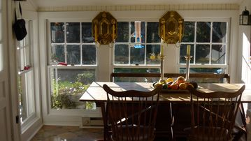 Eat in Kitchen overlooking gardens