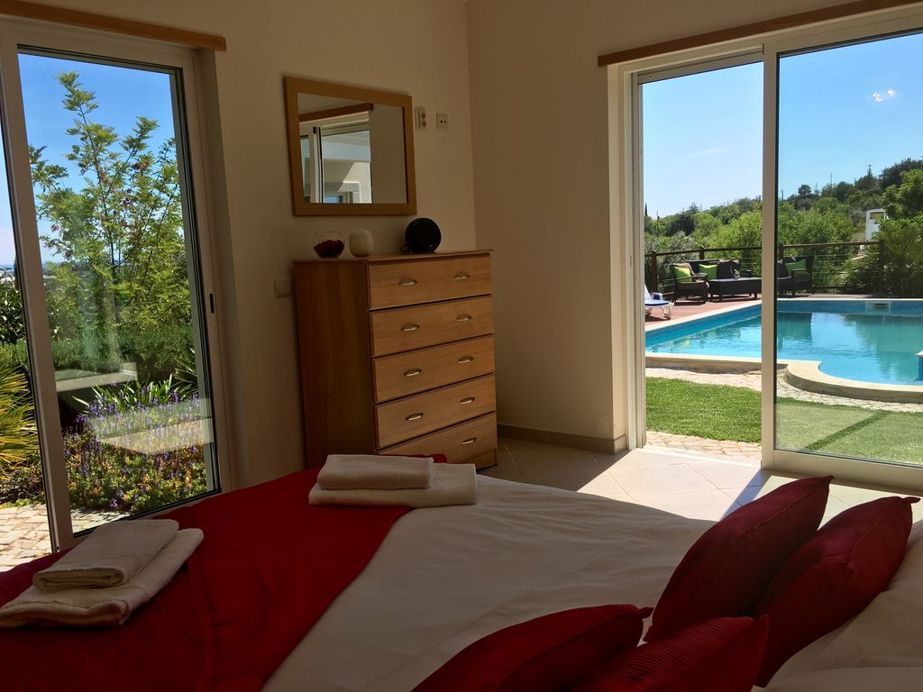Santo Estêvão villa rental - Gorgeous views from ground floor double bedroom