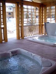 Steamboat Springs condo photo - Shared Hot Tubs