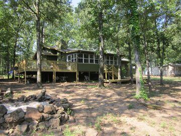 Greers Ferry Lake cabin rental - Outstanding Lake Front Property with Beautiful Views and Great Location.