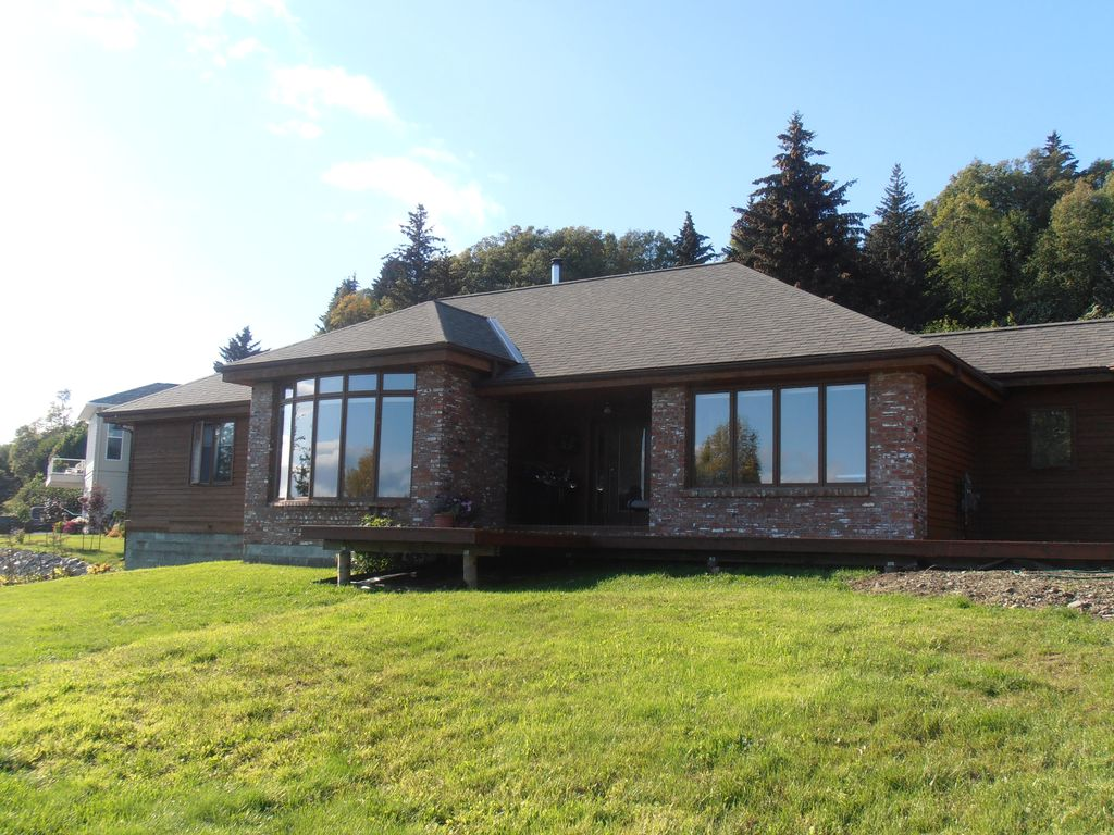 2 Bedroom Log Cabin Ranch Style Home With Panoramic Views Of Vrbo