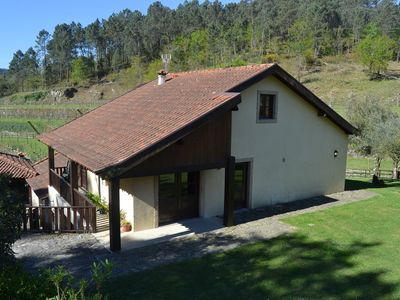 Azenha de Cavez - House on the banks of Tamega with natural swimming pool