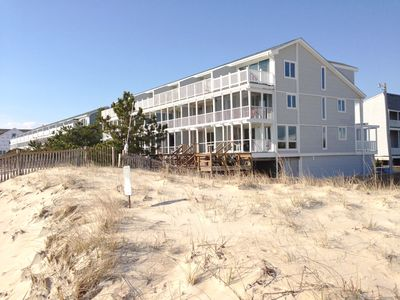 A grand total of 5 porches and decks plus ocean & dune views from every room!