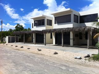 Bonaire villa photo - Front Kas Daas, house on the right hand side kasdaasbonaire.com