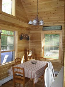 Lake Winnisquam cabin rental - Dining Area