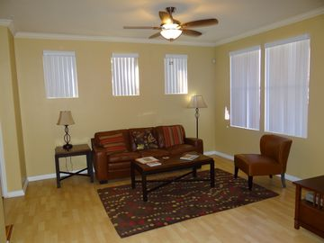 Other Scottsdale Properties condo rental - Enjoy the bright, sunny living room with comfortable seating and large TV.
