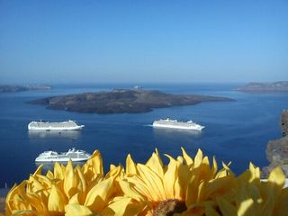 Thira (Fira) villa photo - Welcome to 'Villa Dakoronia'