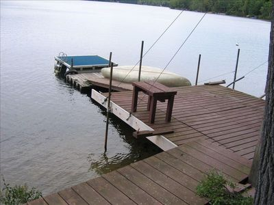 Boat dock and swim raft