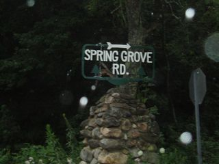 Our Street sign on Route 44 - Chepachet cottage vacation rental photo