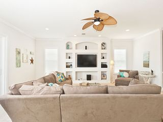 "Palm Coast house photo - Second Floor Living Area with 60"" HDTV & sunset views"