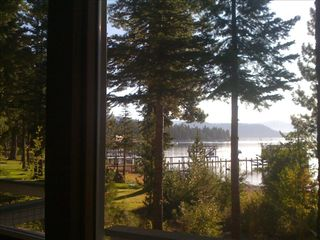 Carnelian Bay cabin photo - View from dining area