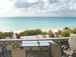 The sea from the patio - Cat Island house vacation rental photo