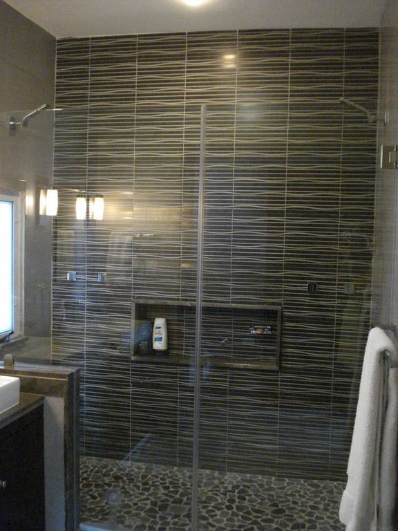 Master Bath Shower with duel shower heads