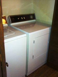 guests are welcome to use the cottage's washer/dryer