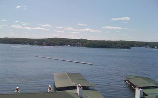 Lake Ozark condo photo - BBQ on the deck and enjoy the view!