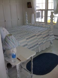 Another Queen Bed..There is one more in main cottage not pictured