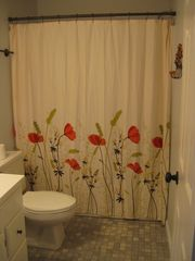 Carolina Beach condo photo - Newly renovated guest bathroom