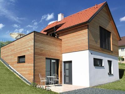 The comfortable holiday house, in the south-east Styrian wine gardens
