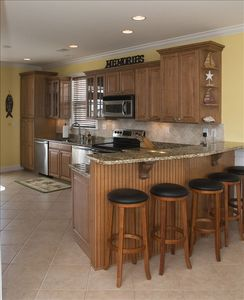 LOVE TO COOK? Enjoy the Gourmet Kitchen w/2 Refrigerators & 2 Bosch Dishwashers.