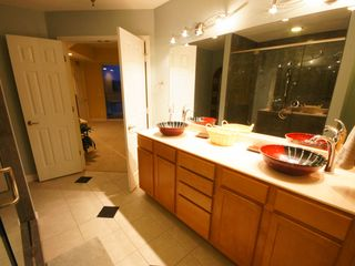 Osage Beach condo photo - Enjoy the Luxurious Bathroom including an Oversized Shower w/ multiple Sprayers
