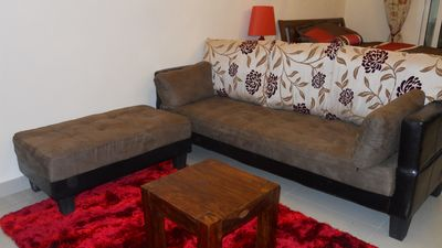 Ras Al Khaimah (RAK) apartment rental - Sleeping sofa