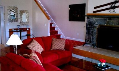 Fireplace - Stairs