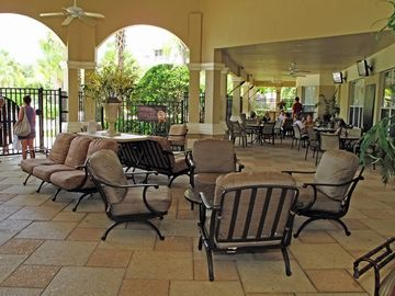 Outdoor Lounge at Clubhouse
