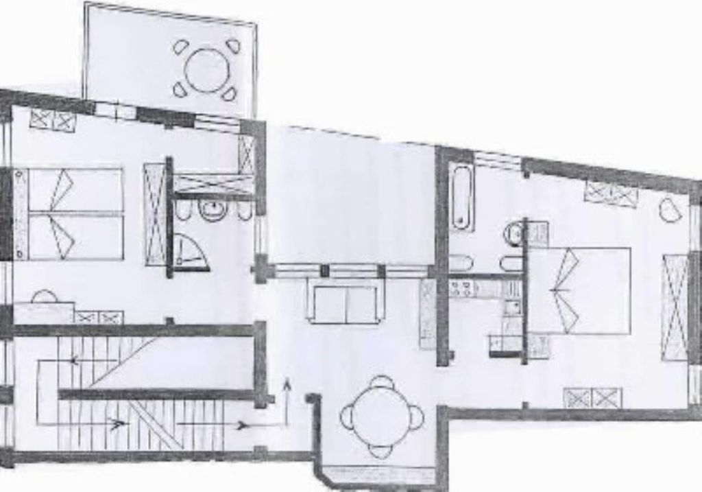Cannaregio apartment rental - Plan
