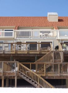 Three large private decks for sun and fun!
