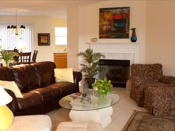 Hendersonville house rental - Open Family Living area ...put your feet up...make yourself comfortable