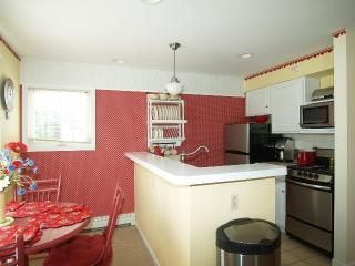 Onekama condo photo - Open kitchen/dining