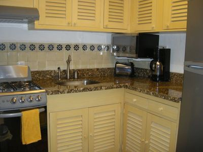 Kitchen with New Custom Cabinets & Appliances