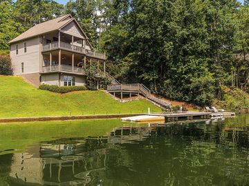 Lake Martin house rental - View from water
