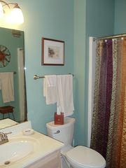Sunset Beach condo photo - The second bathroom, we provide the linens.