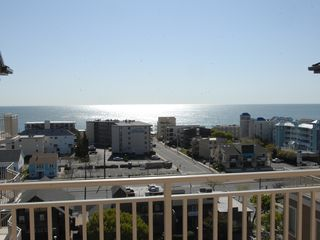 Rivendell Ocean City condo photo - Ocean view from front door and 2 guest bedrooms!