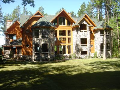Executive 9,000+ Sq.Ft. Mullet Lake Home, Private 2.5 Acre Lot