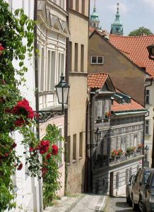 Another winding street of Mala Strana neighborhood