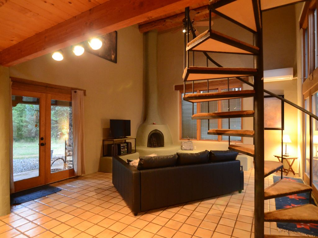 A Beautiful Spacious Bright Taos Home HomeAway Taos