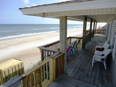 Spacious deck to catch sea breezes and watch for dolphins!