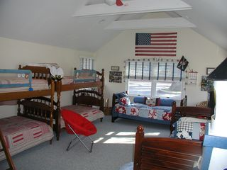 Southold house photo - Bedroom#3, sleeps 6+