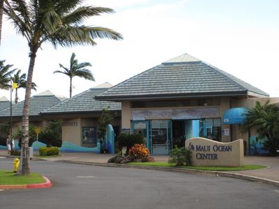 Maui Ocean Center - 5 minute walk from the condo