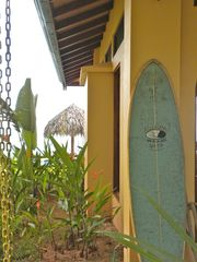 Uvita villa photo - Surfboard and beach gear is available to guests at Casa Aracari.