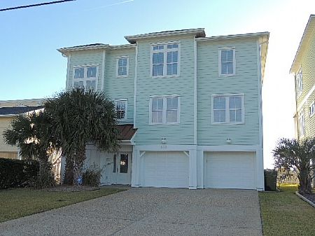 Kure beach vacation rental vrbo 510497 6 br southern for Outdoor elevators for beach houses