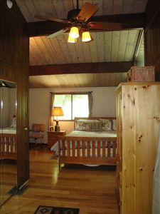 Traverse City cottage rental - Master Bedroom
