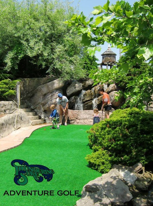 Miniature Golf (2 blocks away)