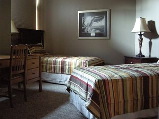Ludington condo photo - Twin Bedroom with Sleep Number beds