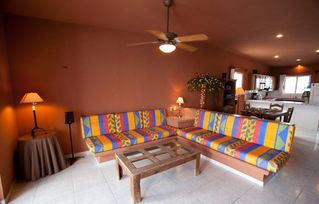 living area upper level - Isla Mujeres house vacation rental photo