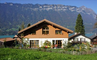 New Chalet W/Studio in Bönigen by Interlaken on Lake Brienz